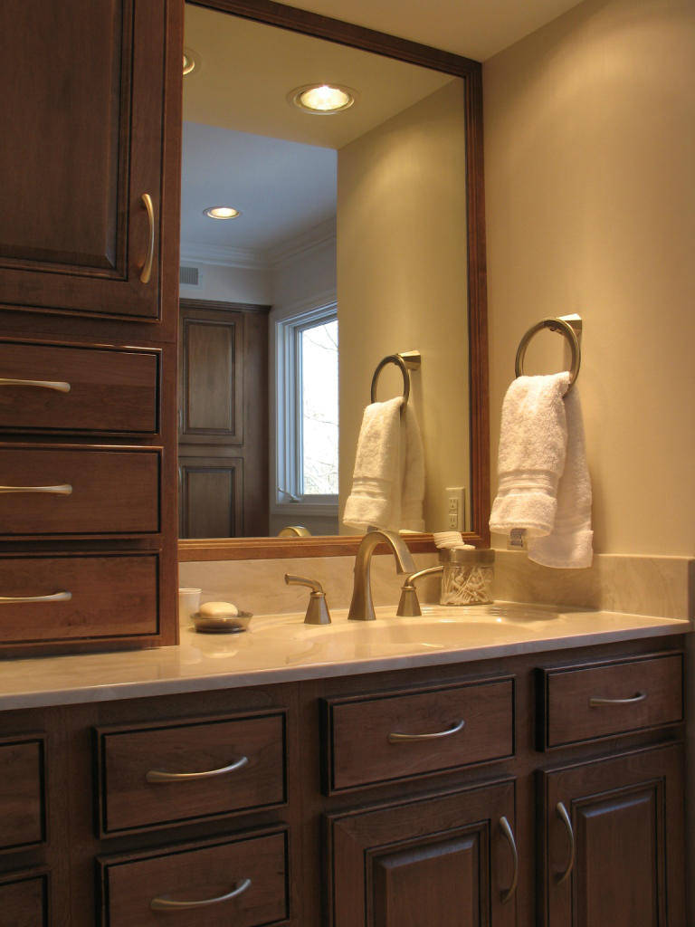 remodeled bathroom in st louis bathroom remodeling