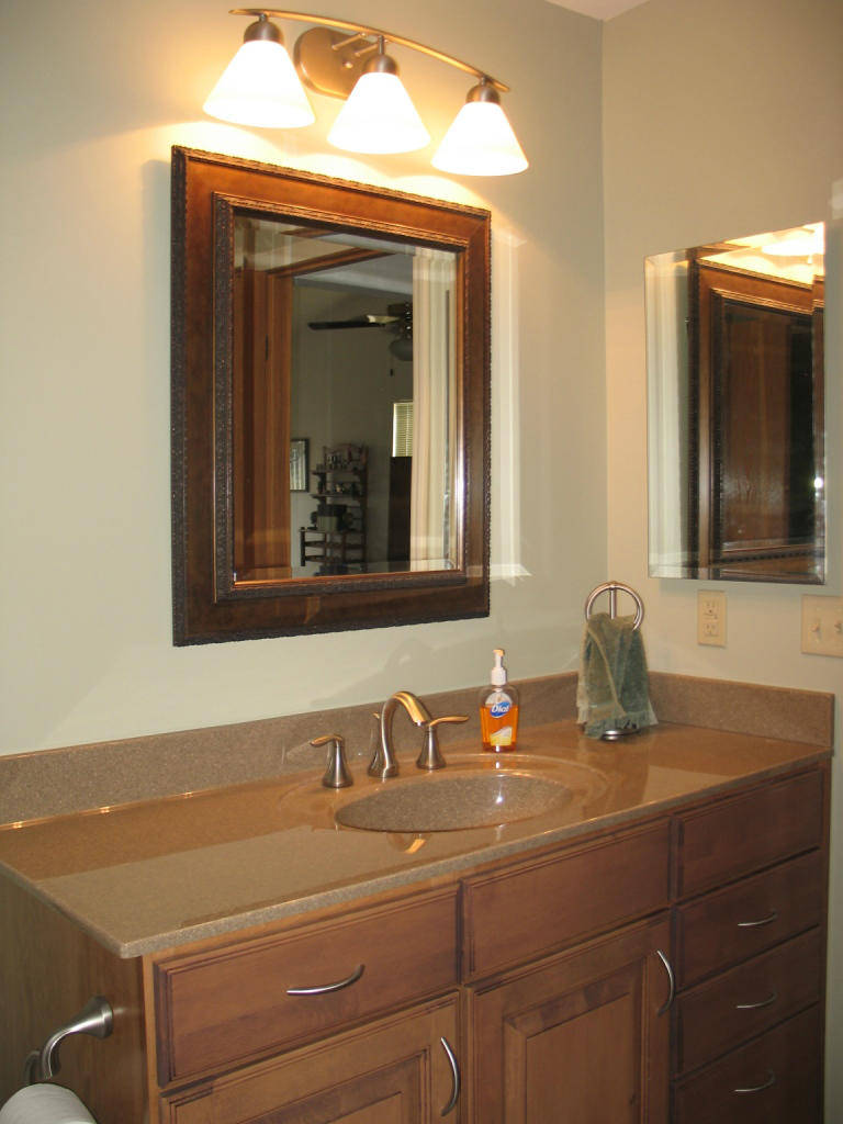 bathroom makeover in St. Louis