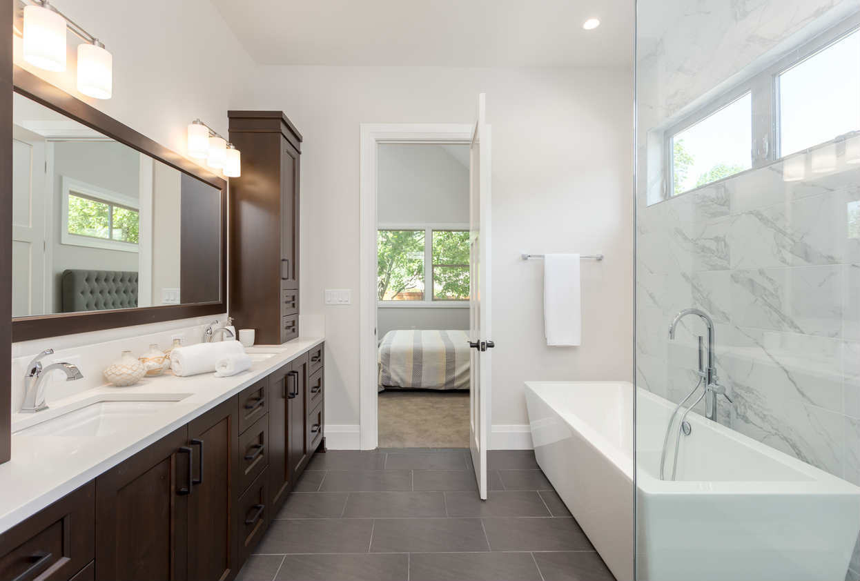 St. Louis luxury bathroom remodel