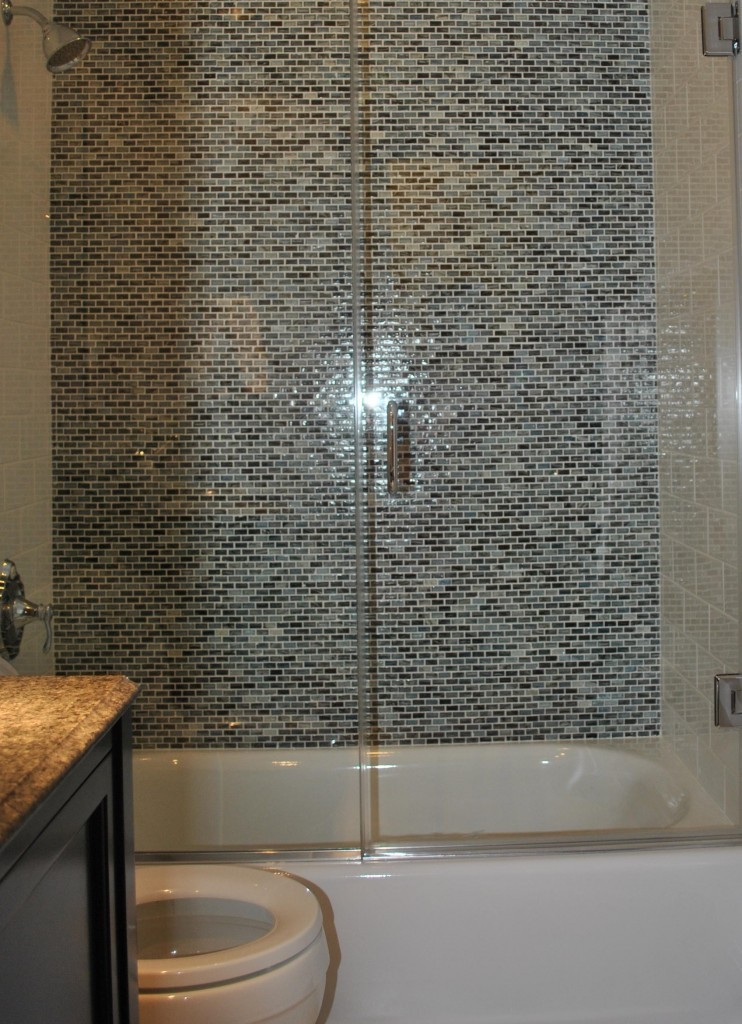 Convert Your Tub Into a Walk-In Shower