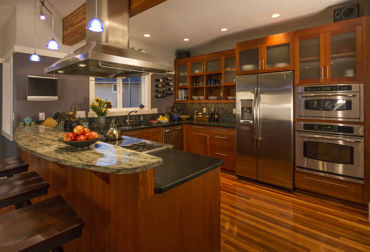 Contemporary ST. Louis Kitchen After Remodel
